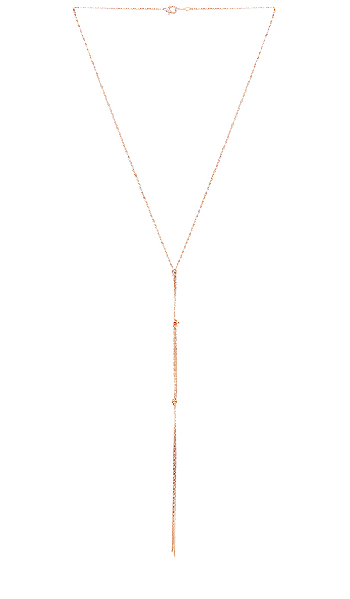 Five and Two Ramona Necklace in Metallic Copper