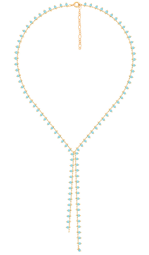 Five and Two Naomi Necklace in Metallic Gold