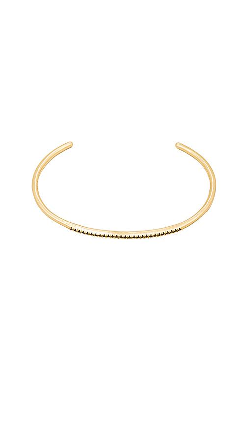 Five and Two Fara Bracelet in Metallic Gold