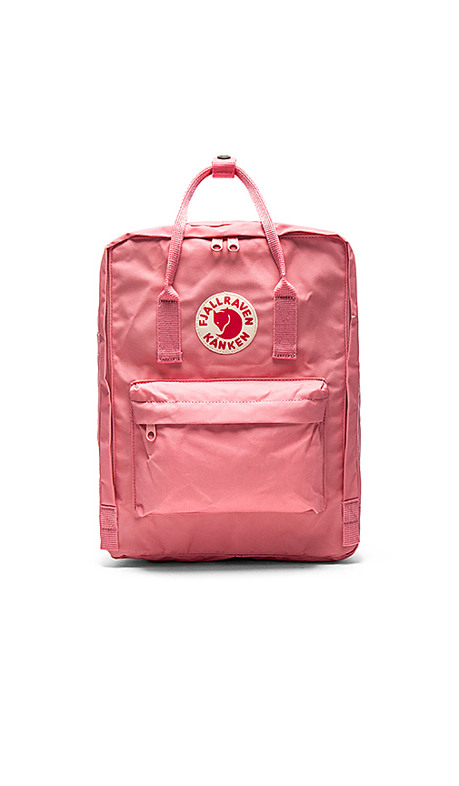 Fjallraven Kanken in Pink.