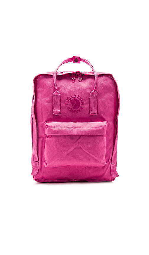Fjallraven Re-Kanken in Pink.