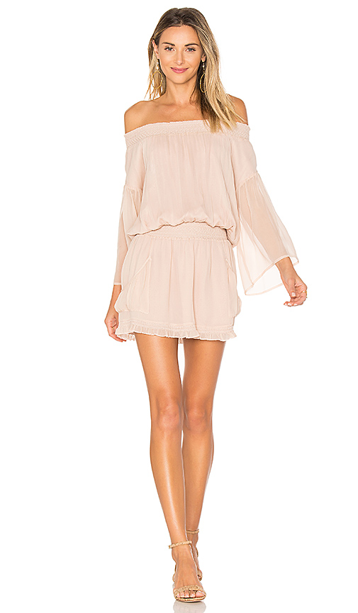Flannel Australia Montreaux Dress in Blush