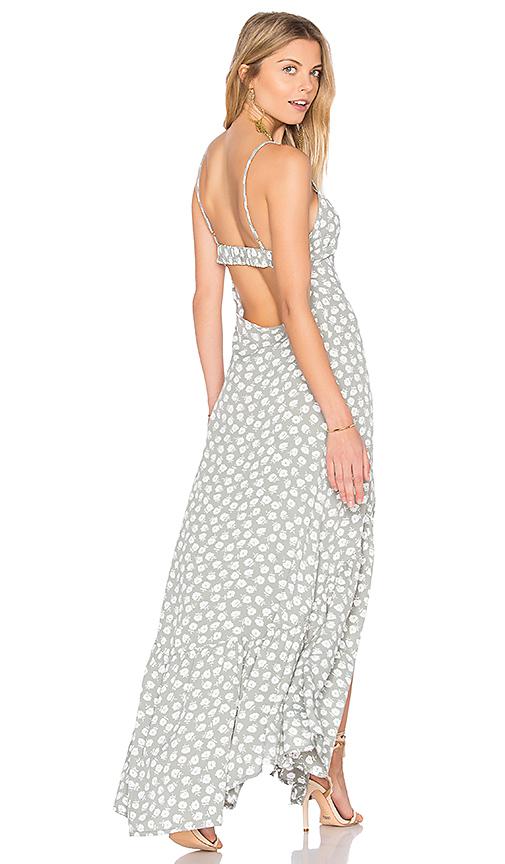 FLYNN SKYE Unbutton Me Fresh Dress in Sage
