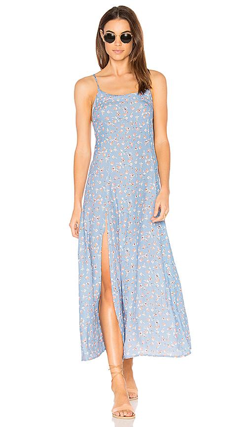 FLYNN SKYE Debbie Dress in Blue