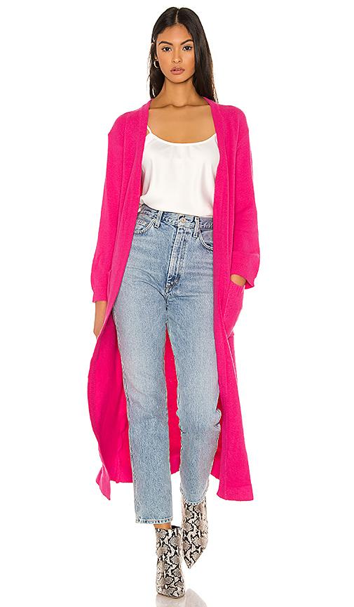 Flynn Skye Bones Duster In Pink. In Neon Pink