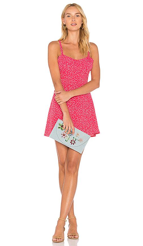 Shop For Love & Lemons Pink Star Tank Dress in Pink online dresses