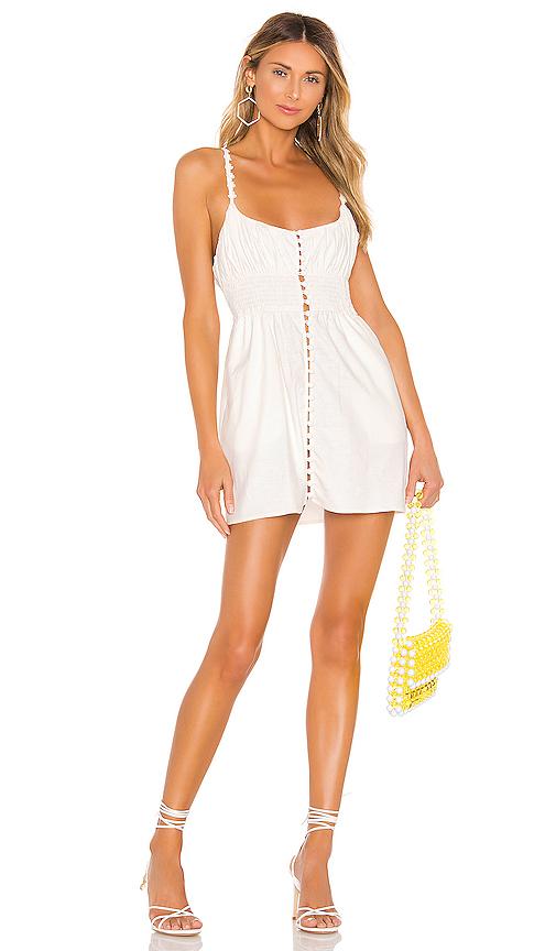 For Love & Lemons Dresses Macaroon Button Mini Dress