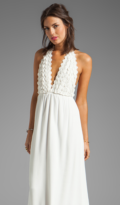 Sale alerts for For Love & Lemons Camillia Maxi Dress - Covvet
