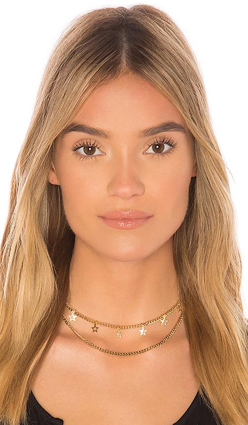 Frasier Sterling Mamacita Prelayer Necklace in Metallic Gold
