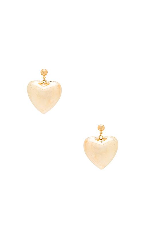 Frasier Sterling Malbu Mami Earrings in Metallic Gold