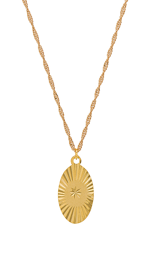 Frasier Sterling Take My Breathe Away Necklace in Metallic Gold