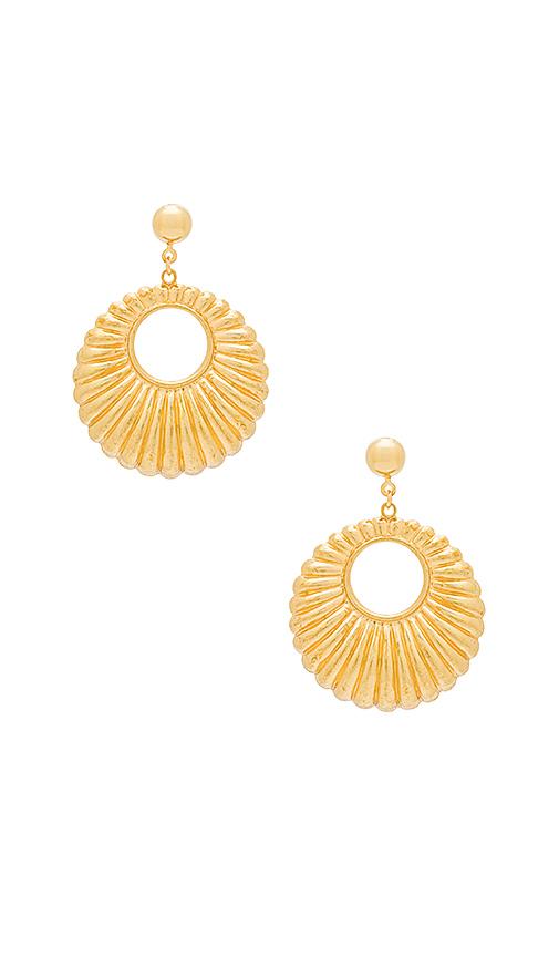 Frasier Sterling Reckless Earrings in Metallic Gold