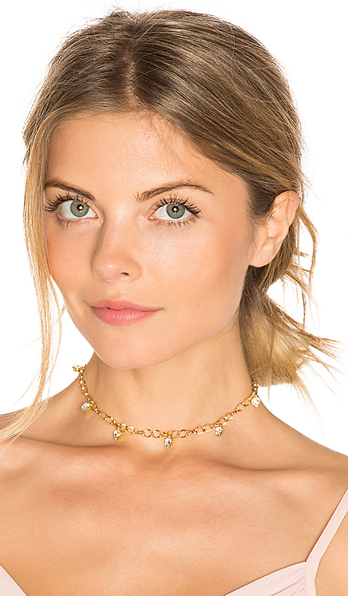 Frasier Sterling It's Complicated Choker in Metallic Gold
