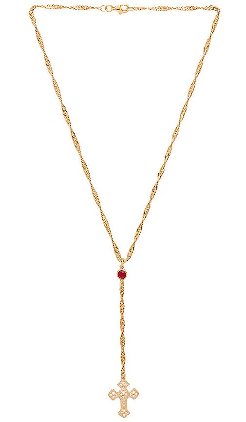 Frasier Sterling Bad Habits Necklace in Metallic Gold