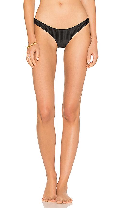 Frankies Bikinis Greer Bottom in Black