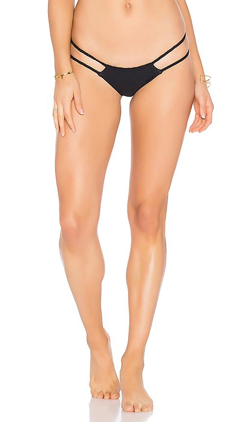 Frankies Bikinis Mimi Bottom in Black