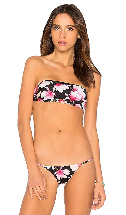 Frankies Bikinis Joy Top in Black