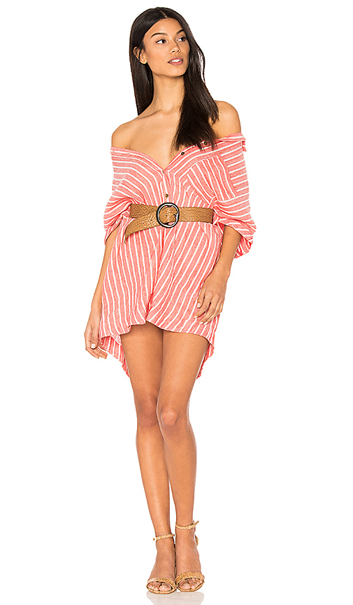 Photo of Free People Little Sway Mini Dress in Red - shop Free People dresses sales