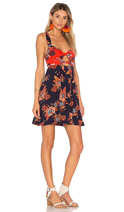 Free People Baby Its You Mini in Blue