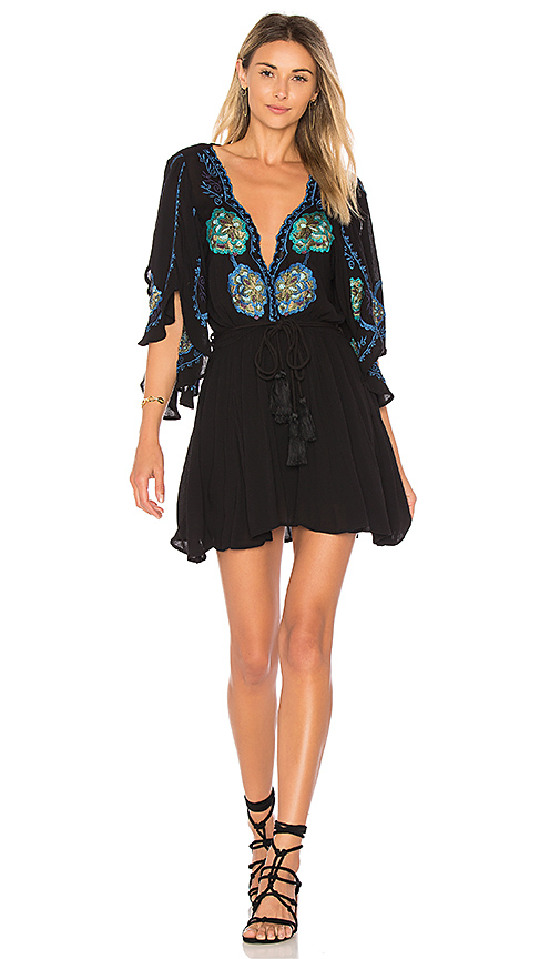 Free People Cora Dress in Black