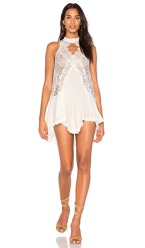 Free People Tell Tale Heart Sleeveless Top in Ivory
