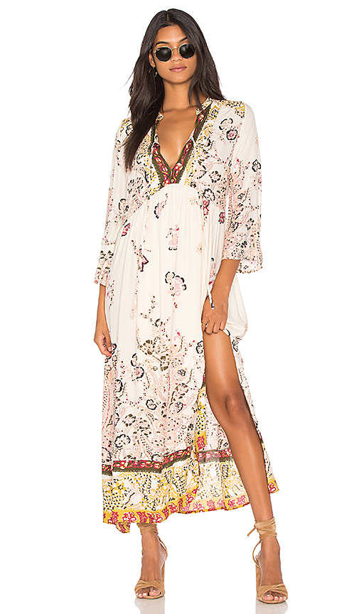 Free People If You Only Knew Midi Dress in White