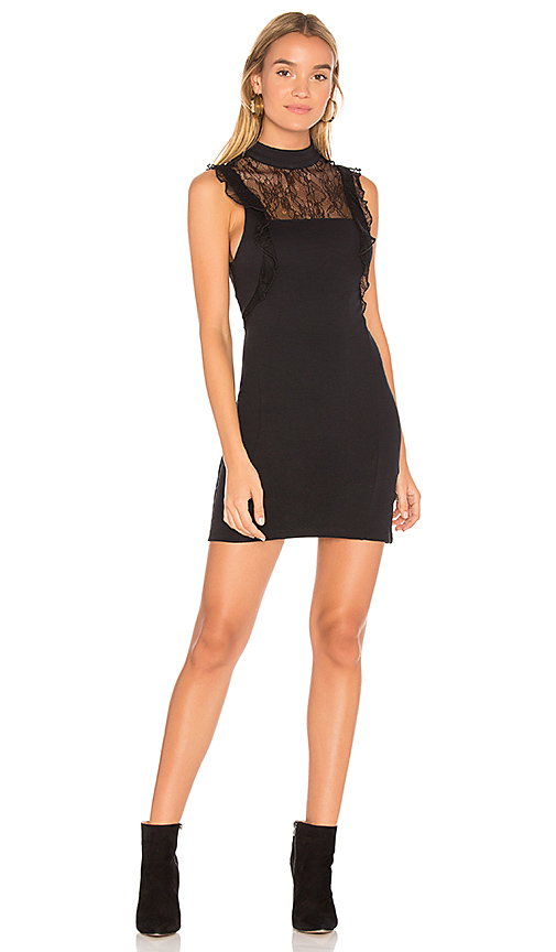 Free People Beaumont Muse Dress in Black