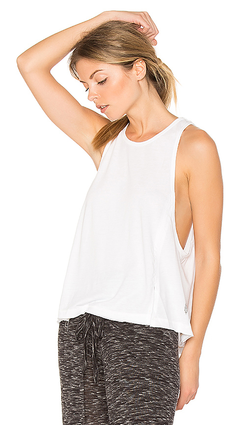 Photo of Free People Wicked Tri Blend Legend Tank in White - shop Free People tops sales