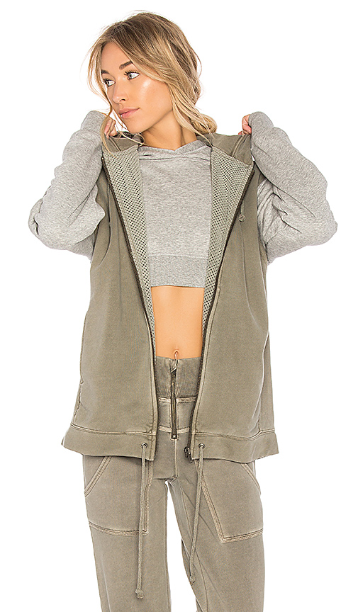 Free People Vagabond Vest in Green