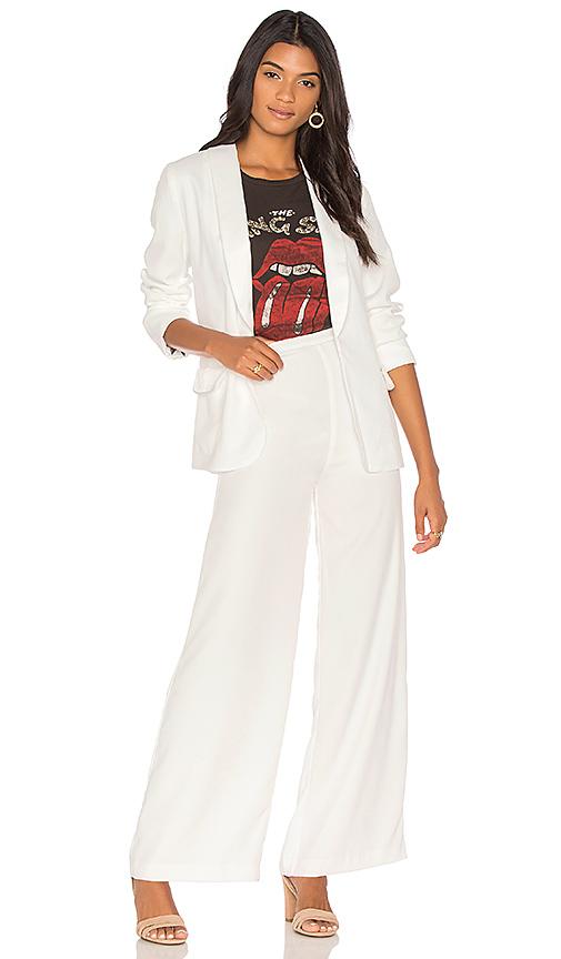 Free People Jill's Suit in White