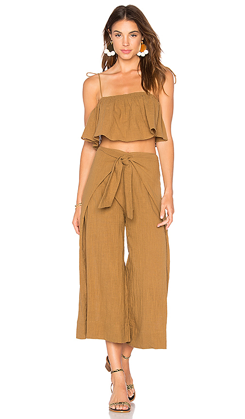 Free People Tropic Babe Set in Green