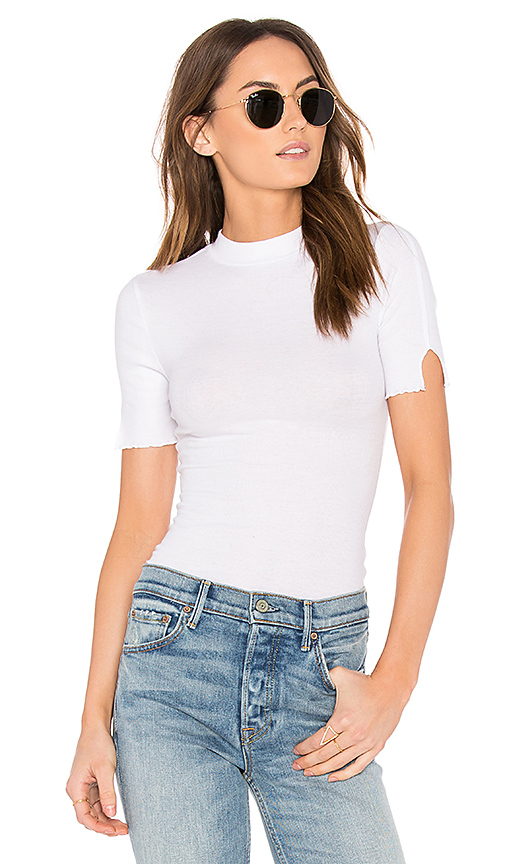 Free People Badabing Layering Top in White
