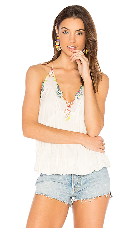 Free People Island Time Top in White