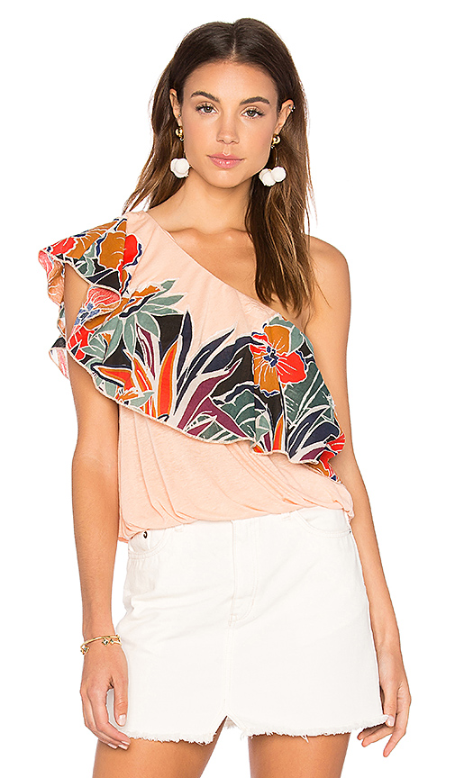 Free People Annka Bubble Top in White