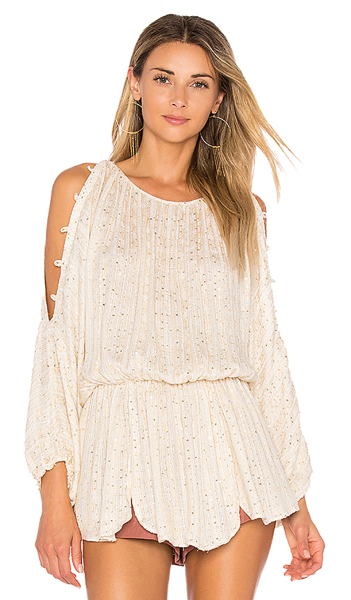 Free People Little Shine Tunic in Cream