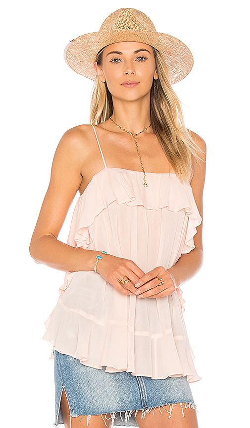 Free People Cascades Cami in Pink