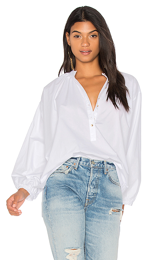 Free People Hey Baby Top in White