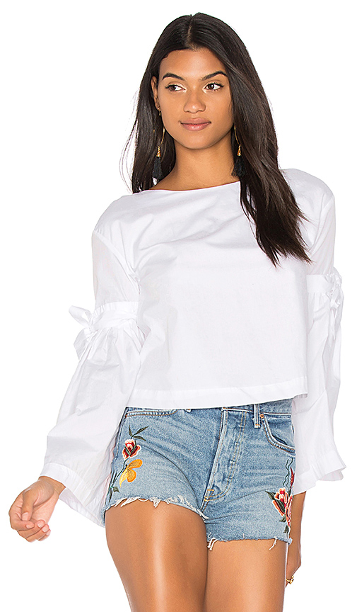 Free People So Obviously Yours Top in White