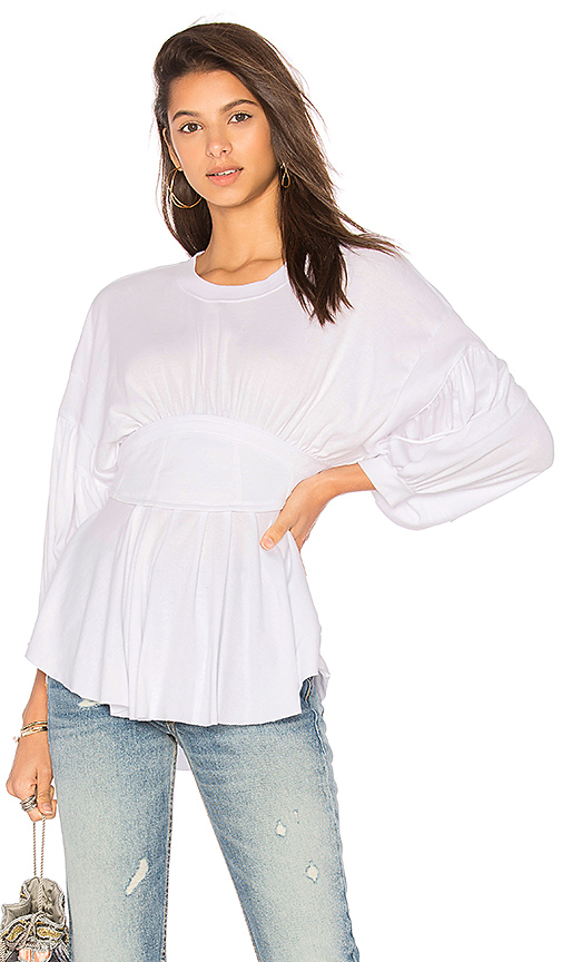 Free People Time Traveler Top in Ivory