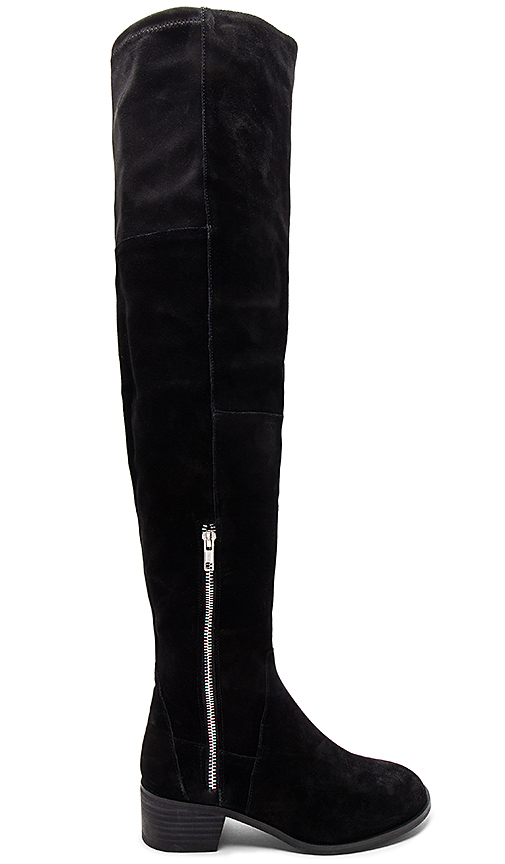 Photo of Free People Everly Tall Boot in Black - shop Free People shoes sales