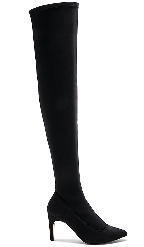 Free People Paris Over The Knee Boot in Black