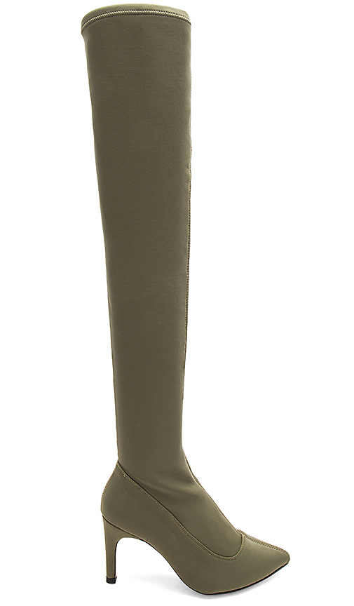 Free People Paris Over The Knee Boot in Army