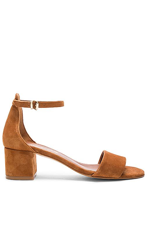 Free People Marigold Block Heel in Cognac