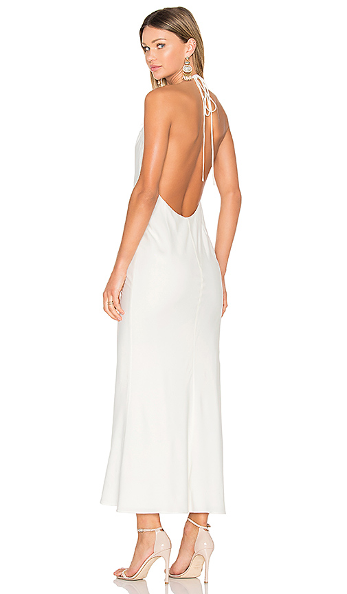 FAME AND PARTNERS X REVOLVE Lux Maxi Dress in White