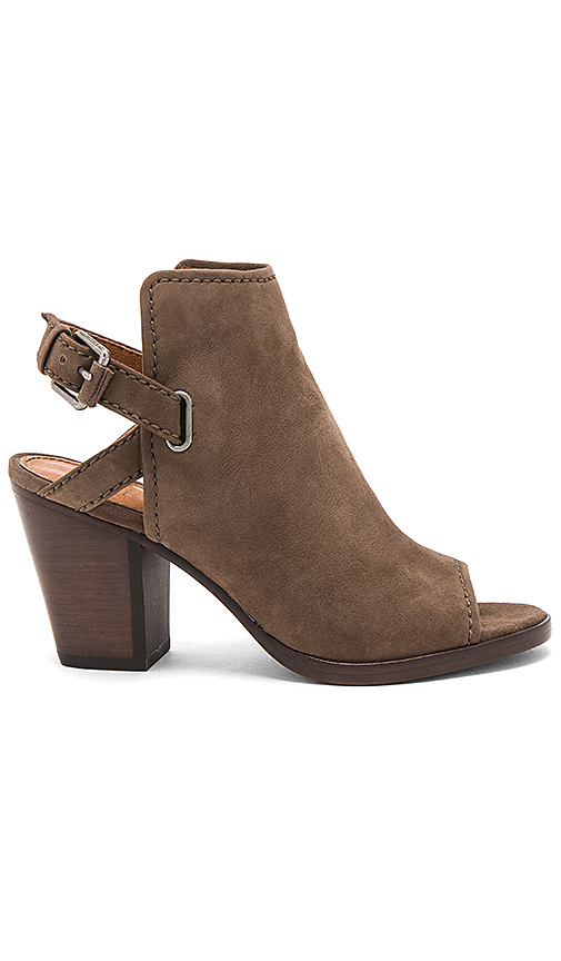 Frye Dani Shield Bootie in Taupe