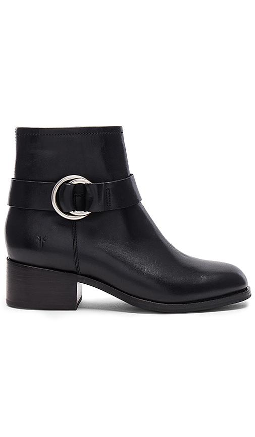 Frye Kristen Harness Bootie in Black