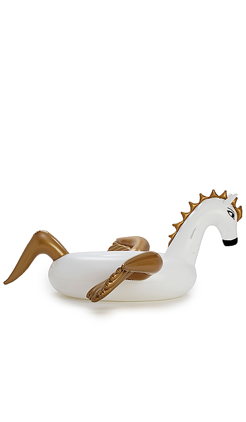 FUNBOY Inflatable Pegasus Pool Float in White