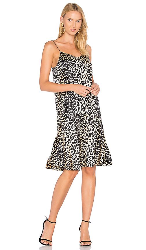 Photo of Ganni Dufort Dress in Tan - shop Ganni dresses sales