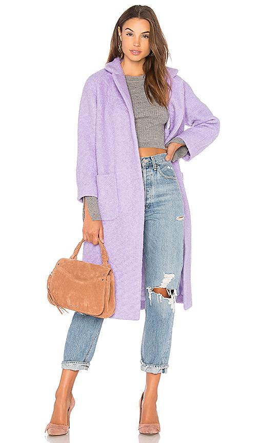 Ganni Fenn Coat in Lavender