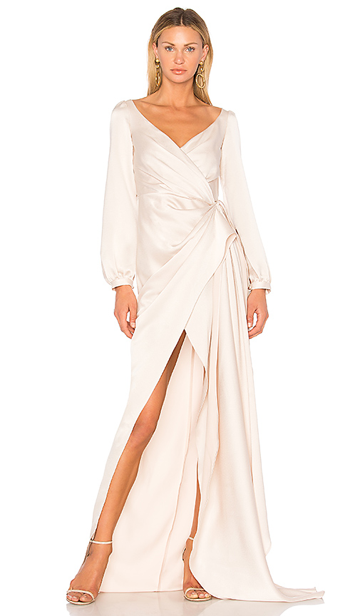 Gemeli Power Whisky Jay Gown in Cream